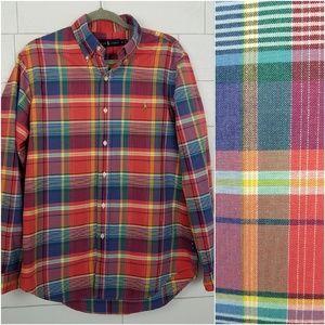 Ralph Lauren Men's size Medium Plaid Shirt